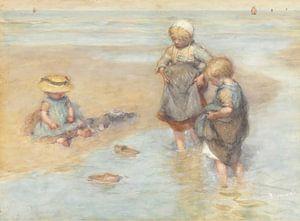 Boote spielende Kinder, Bernardus Johannes Blommers