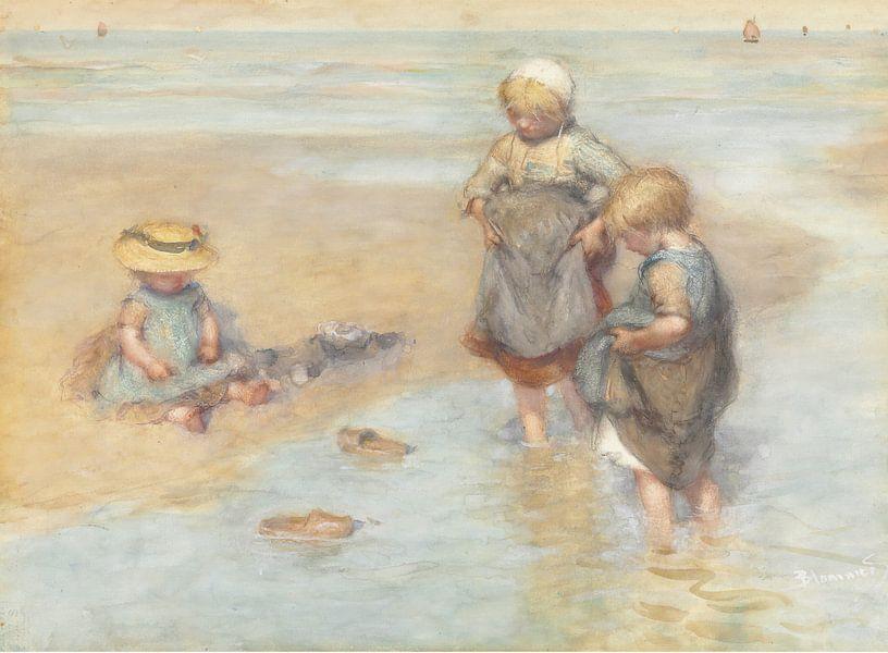Boote spielende Kinder, Bernardus Johannes Blommers von Meesterlijcke Meesters