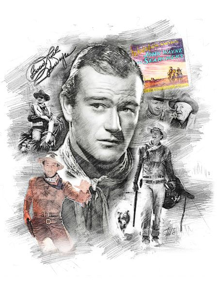 John Wayne von Theodor Decker