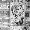Pop-Art in Schwarz-Weiß von Atelier Liesjes Miniaturansicht