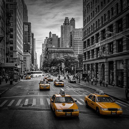 NEW YORK CITY Verkehr auf der 5th Avenue