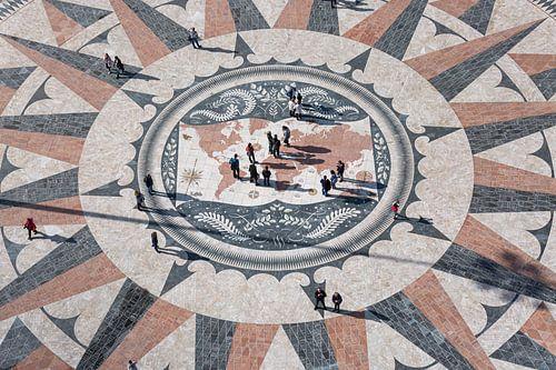 Het Rose Compass Belém  in Lissabon in Portugal