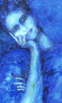 Feeling Blue (2) van Ineke de Rijk