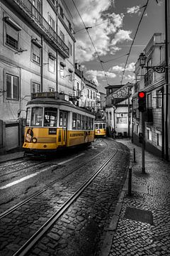 Tram Lissabon van Jens Korte