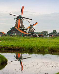 Een molen op de Zaanse Schans
