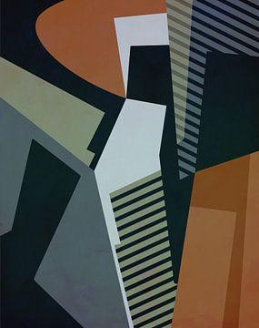 Abstracte samenstelling 1132 van Angel Estevez