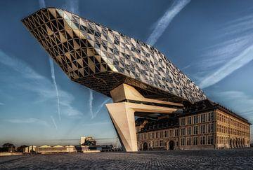 Havengebouw Antwerpen van Mario Calma