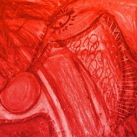 Phantasie - rot von Katrin Behr