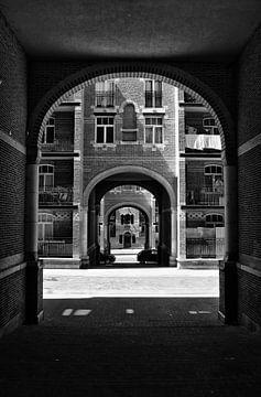 Cité Hellemans in Brüssel von Dennis Morshuis