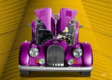 Morgan Plus 8 van aRi F. Huber