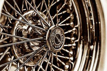 Excalibur reservewiel in detail van 2BHAPPY4EVER.com photography & digital art