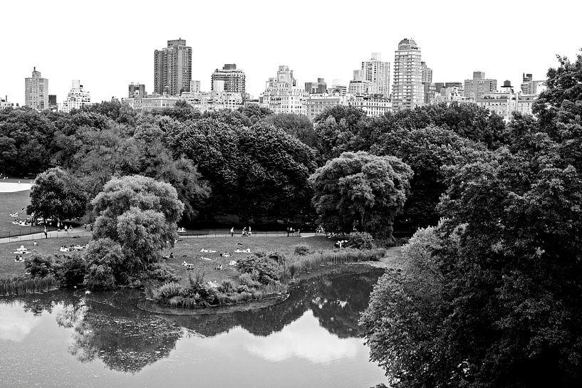 new york city ... central park relaxation von Meleah Fotografie