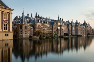 Het binnenhof in Den Haag in de avond van OCEANVOLTA