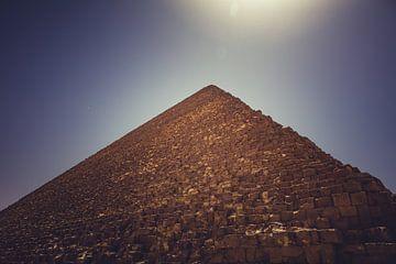 De Piramides in Gizeh 08 van FotoDennis.com