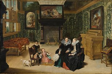 Interieur (Rubens Salon), Frans Francken der Jüngere