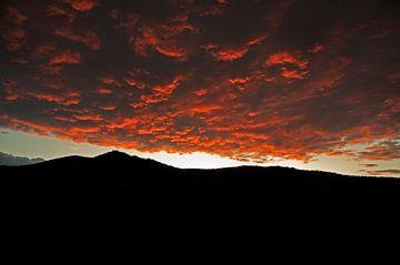 Zonsondergang in Granada van Eye to Eye Xperience By Mris & Fred