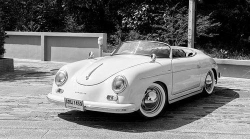 Oldtimer Porsche.  van