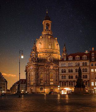Neumarkt Dresden van Sergej Nickel