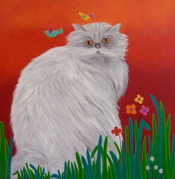 Persian Cat van Yvonne Klaassens