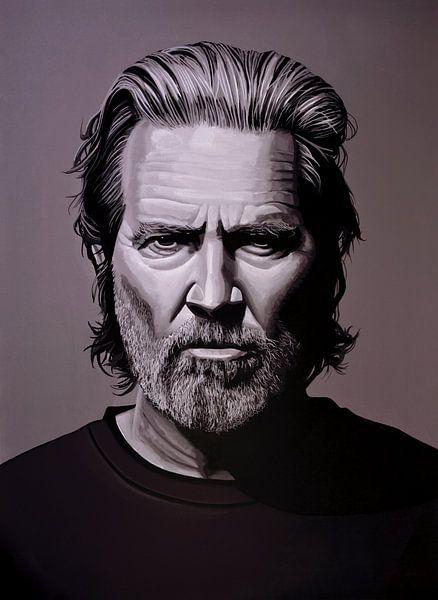Jeff Bridges Schilderij van Paul Meijering