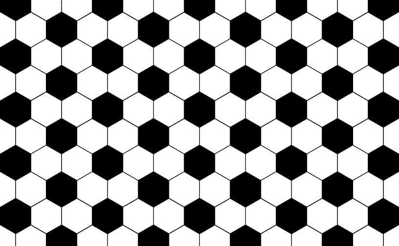 Fußball Muster, Patrone, Patron, sport von Mark Rademaker
