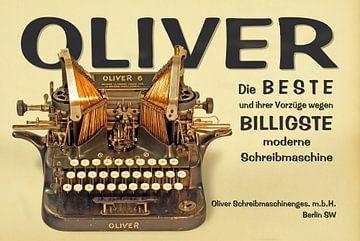 Schreibmaschine Oliver Modell 6 von Ingo Rasch