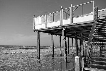 Strandpavillon Petten von Rob Donders Beeldende kunst