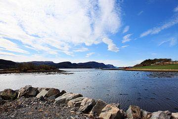 Fjord Noorwegen van Anton Roeterdink