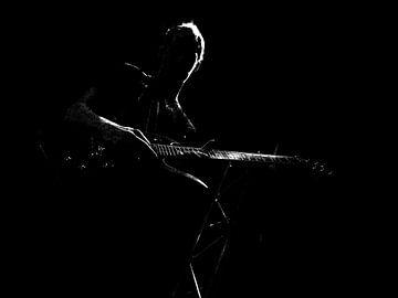 gitarist  von Michel De Pourcq