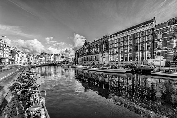 Het Rokin in Amsterdam. van Don Fonzarelli