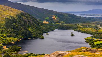 Blick vom Healy Pass, Irland von Henk Meijer Photography