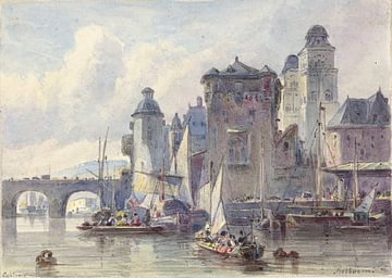 Blick auf Koblenz, Johannes Bosboom