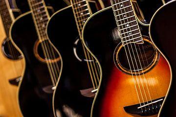 Guitaren van Rob van der Pijll
