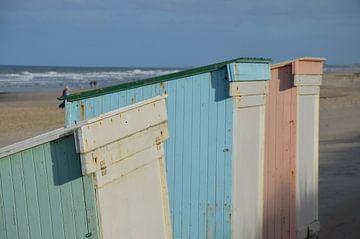 Strandhütten von Corinna Vollertsen