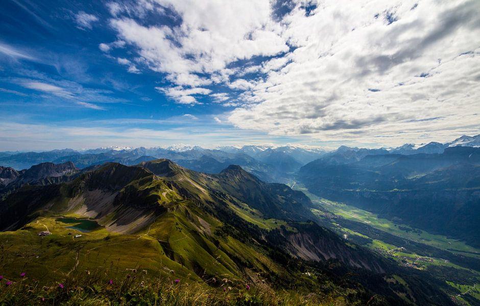 Zwitserland bergen van Jeroen Kooij