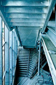 Escalier métallique de Vorstin sur Wolf Schouten