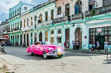 Kleurrijk Havana, colorful 3 van Corrine Ponsen
