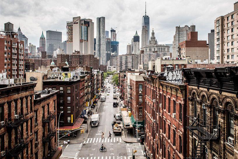 Stadtbild von Manhattan, New York von Atelier Liesjes