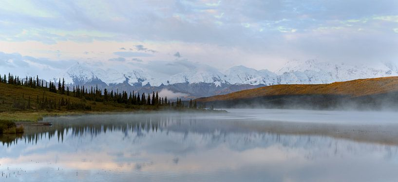 Mount Denali Alaska van Menno Schaefer