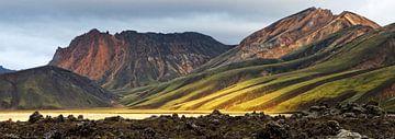 Landmannalaugar - Island von Arnold van Wijk