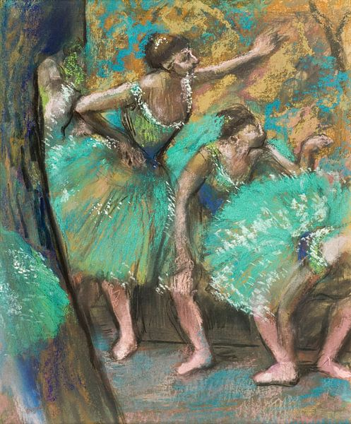 Die Tänzer, Edgar Degas von Meesterlijcke Meesters