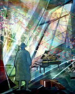 Muziek zweeft in de ruimte de finale van Gertrud Scheffler