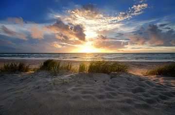 Beach Ahrenshoop sur Steffen Gierok