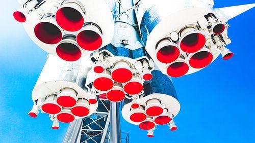 Vostok Rocket van