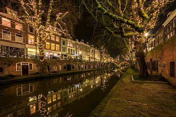Utrecht, Oudegracht, Niederlande von Peter Bolman