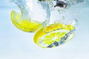 Plons van de citroen