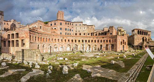 Markten van Trajanu (Mercati di Traiano) in Rome