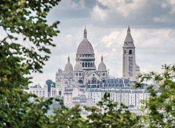 La basilique du Sacré-Cœur à Paris sur Emil Golshani
