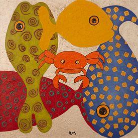 funny fish 8 van Ria van Meijeren