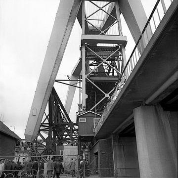 Pont urbain de Zwijndrecht sur Dordrecht van Vroeger